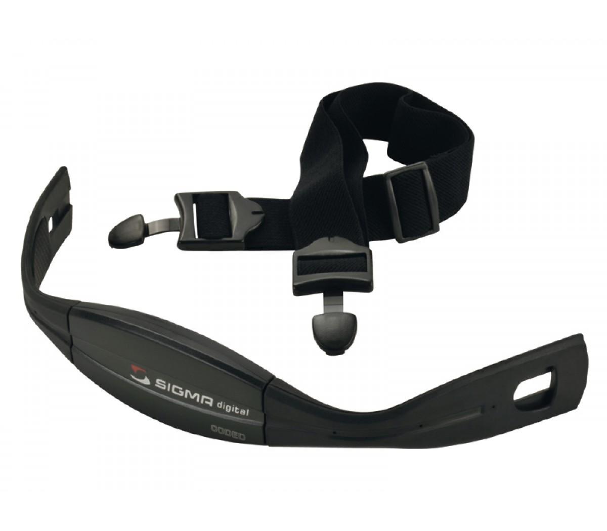 Hartslagmeterdl Sigma Borstband Comfortex Onyx Gecodeerd