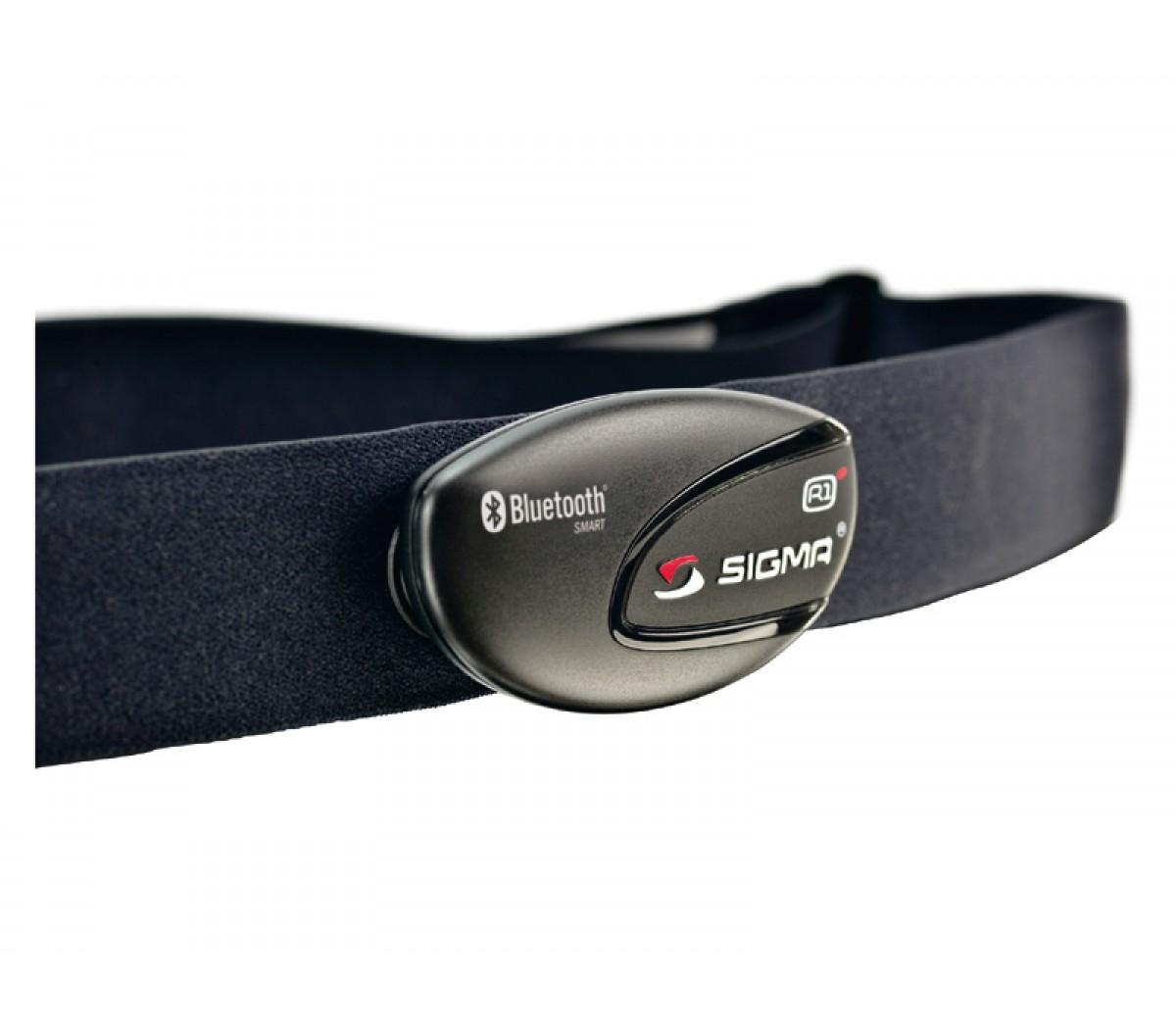 Hartslagmeterdl Sigma R1 Blue Comfortex Bluetooth Smart Sensor
