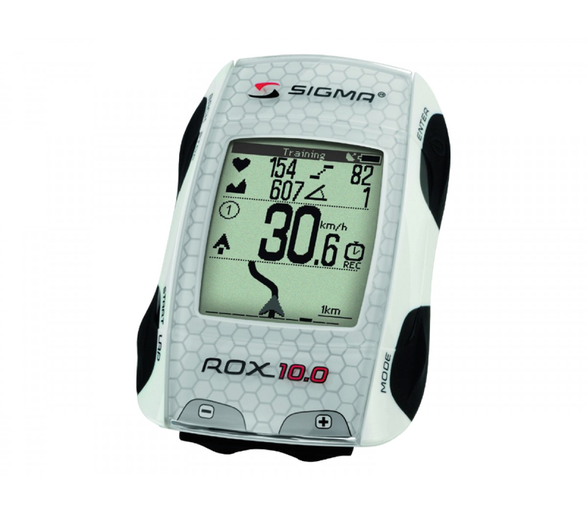 Computer Sigma Rox 10.0 Gps White Ant+ Complete Set