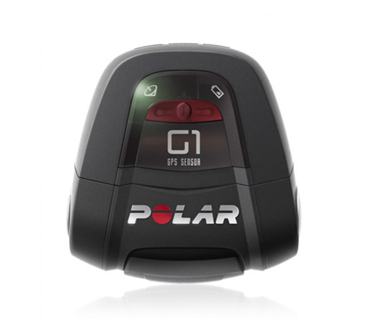 De Polar G1 GPS sensor meet snelheid en afstand tijdens buitensporten, zoals hardlopen of fietsen. Het bereik van de snelheid van de G1 sensor is 0 - 199 km/uur.