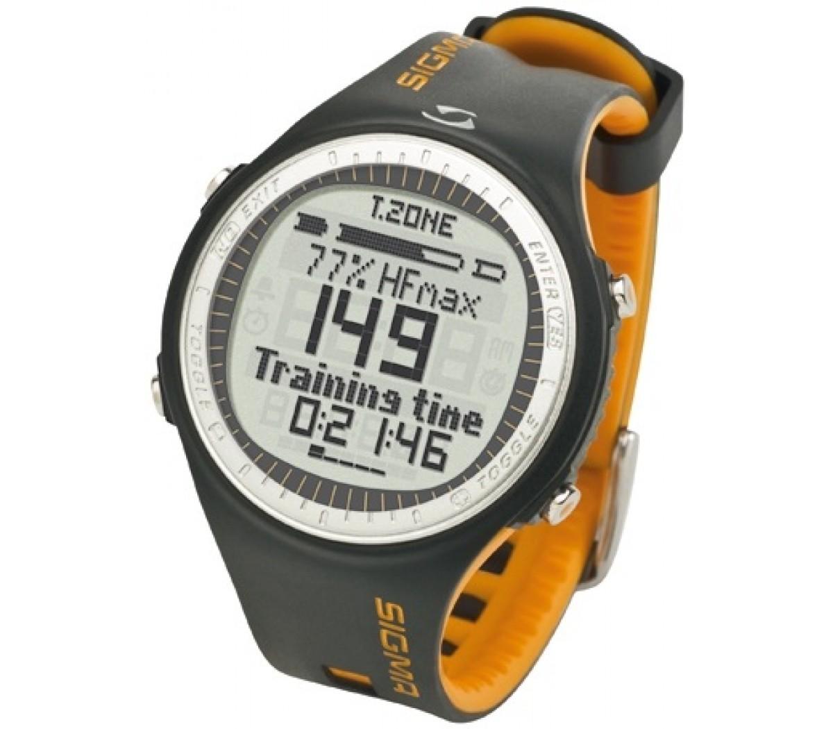 De Sigma PC25.10 hartslagmeter is een eenvoudig te bedienen digitaal gecodeerde hartslagmeter.