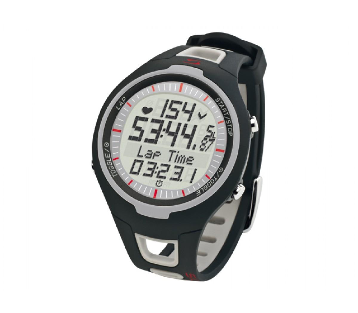Sigma PC 15.11 een hartslagmeter met calorieën- en rondeteller.